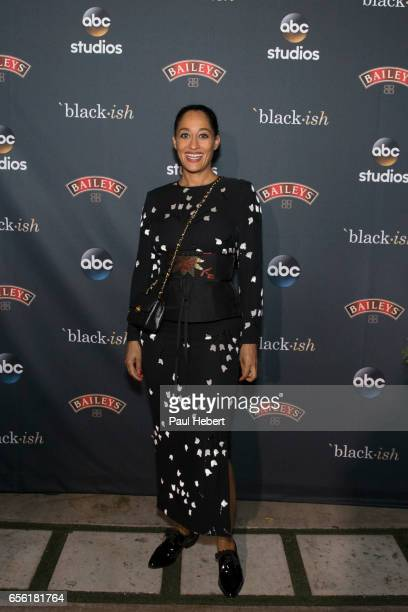 ISH The cast and crew of ABC's critically acclaimed hit comedy 'blackish' celebrate the end of season three at a wrap party with indulgent milkshakes...