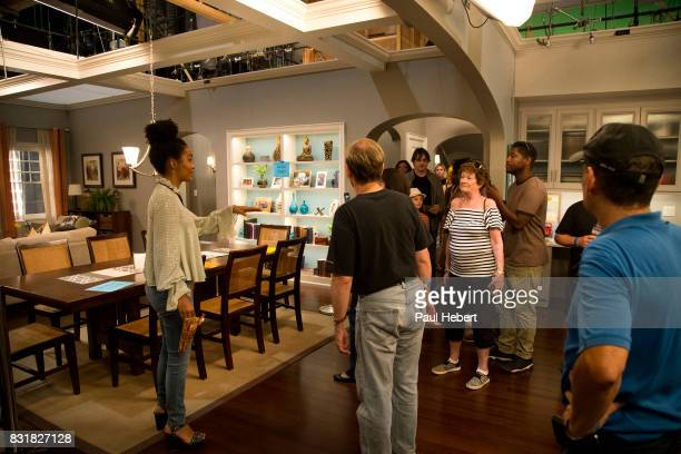 ISH The cast and crew of ABC's critically acclaimed hit comedy 'blackish' celebrates the beginning of production for season four with a carnival...