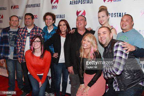 crew of Z100's 'Elvis Duran and the Morning Show' attend the 2012...