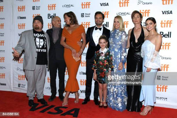 The cast and director attend the 'I Tonya' Premiere during the 2017 Toronto International Film Festival held at Princess of Wales Theatre on...