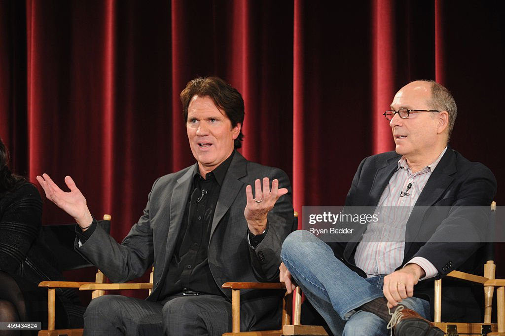 """The cast and filmmakers of """"Into the Woods"""" director Rob Marshall and screenwriter James Lapine take part in a QA following a screening of the film..."""
