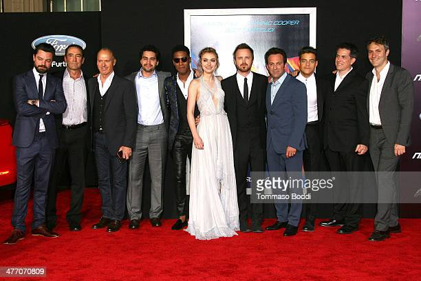 The cast and guests attend the 'Need For Speed' Los Angeles premiere held at the TCL Chinese Theatre on March 6 2014 in Hollywood California