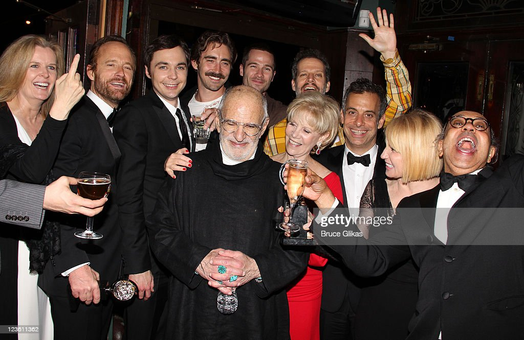 The cast and Producers attend 'The Normal Heart' After Party for The 2011 Tony Awards at the Amsterdam Ale House on June 12, 2011 in New York City.