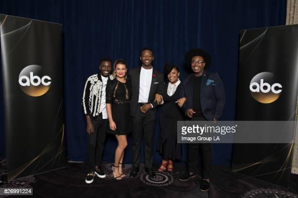 TOUR 2017 The cast and producers of ABC's 'The Mayor' at Disney   ABC Television Group's Summer Press Tour 2017 at The Beverly Hilton in Beverly...