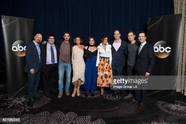 TOUR 2017 The cast and producers of ABC's 'Once Upon a Time' at Disney | ABC Television Group's Summer Press Tour 2017 at The Beverly Hilton in...