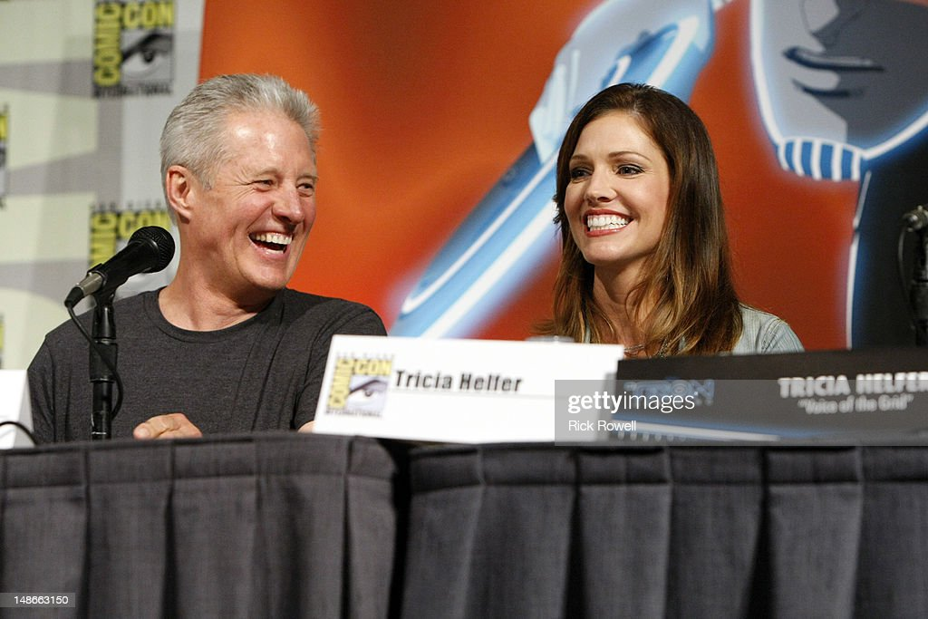 UPRISING - The cast and production team from Disney XD's 'TRON: Uprising' participate in a panel and Q&A session with fans at Comic-Con International in San Diego, Calif. (July 13). HELFER