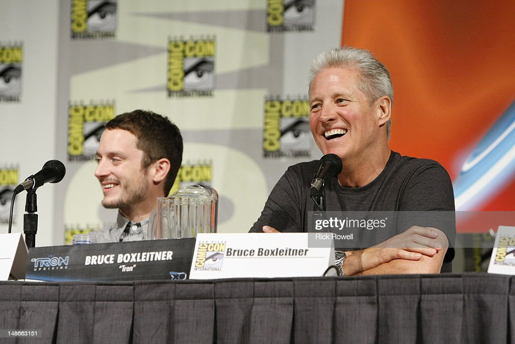 UPRISING - The cast and production team from Disney XD's 'TRON: Uprising' participate in a panel and Q&A session with fans at Comic-Con International in San Diego, Calif. (July 13). BOXLEITNER