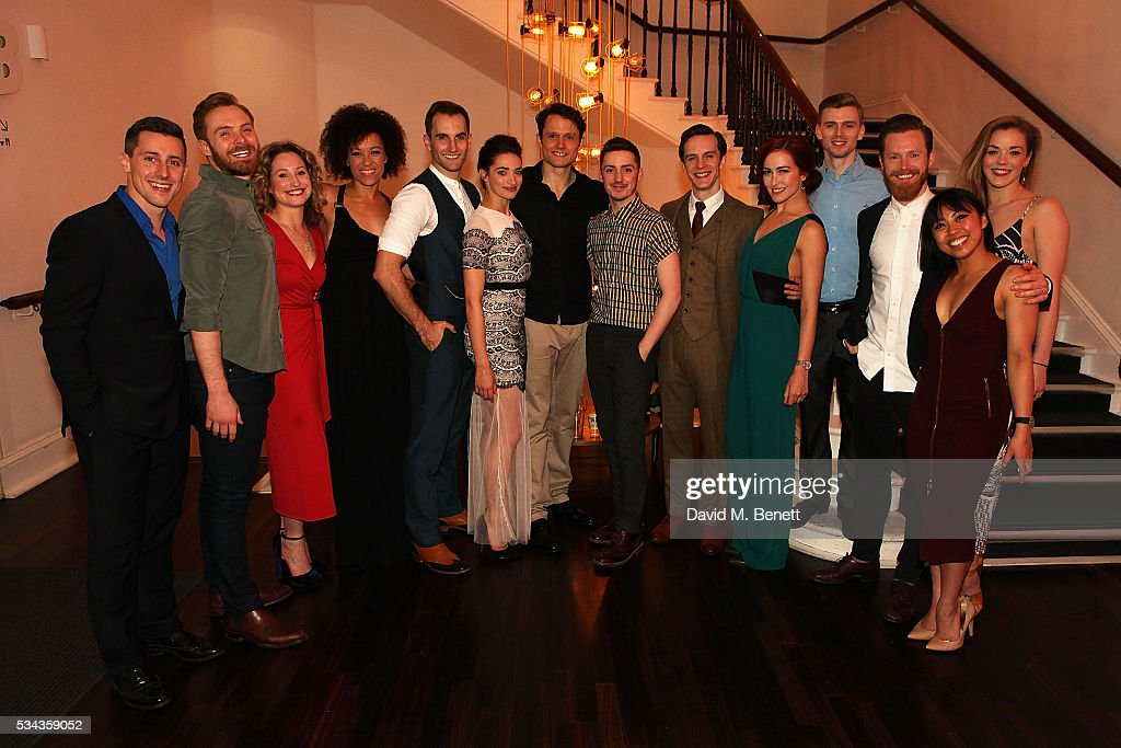 The Cast attends the press night after party for 'Jekyll Hyde' at The Old Vic Theatre on May 25 2016 in London England