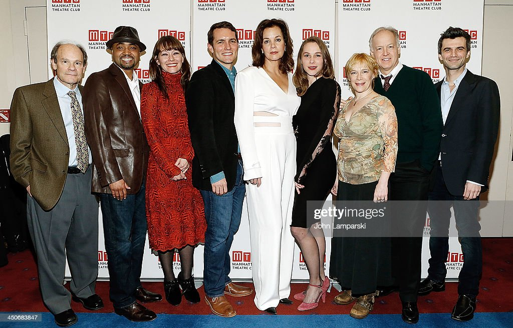 The cast attends the 'Taking Care Of Baby' Opening Night at New York City Center on November 19, 2013 in New York City.