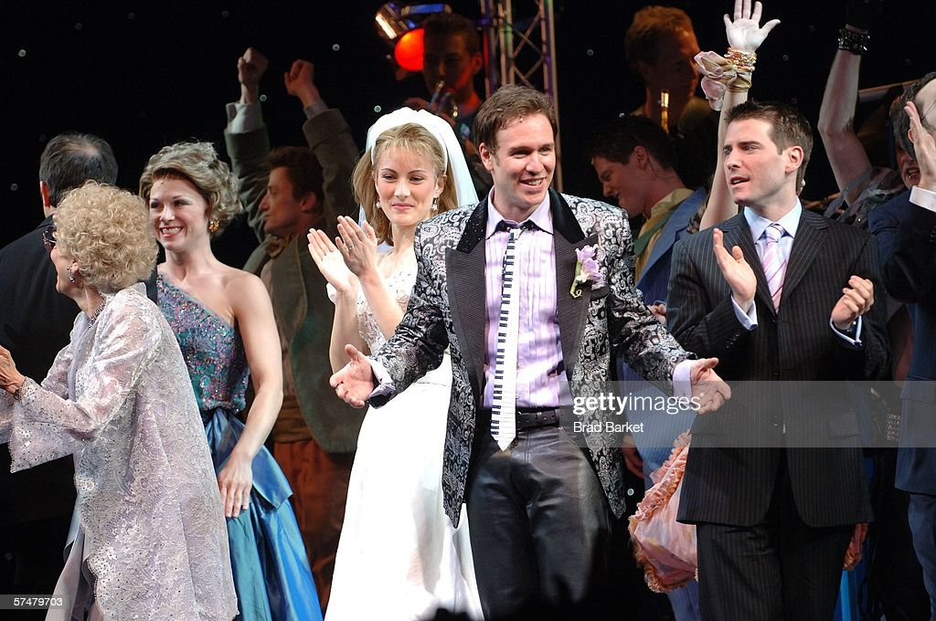 The Cast Comes Out For Curtain Call Of Broadway Opening Wedding