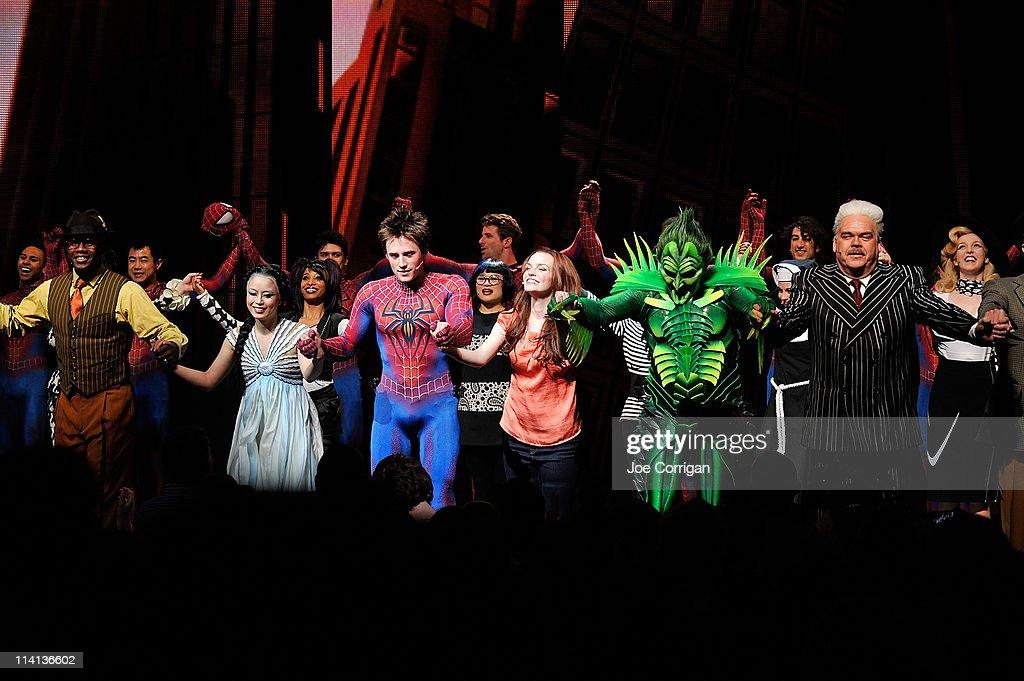 """""""Spider-Man Turn Off The Dark"""" Return To Broadway First ..."""