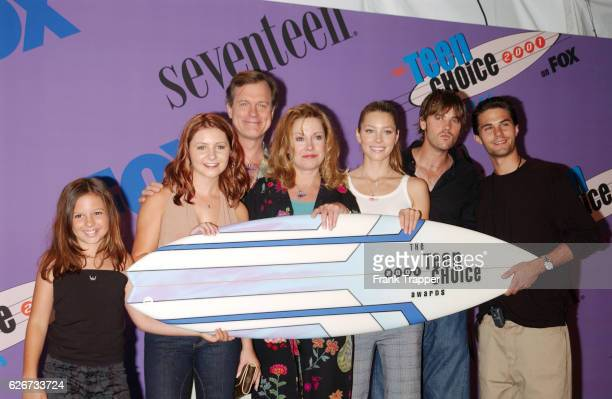 The cast from the TV show '7th Heaven' at The Teen Choice Awards 2001