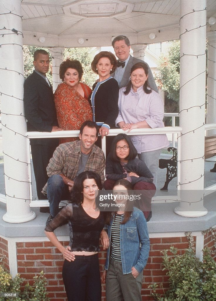 The cast from Warner Bros TV series 'The Gilmore Girls'