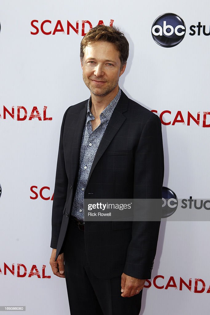 SCANDAL - The cast, guest stars and executive producers of 'Scandal' attended 'An Evening with Scandal' at The Academy of Television Arts & Sciences for their season finale table read and Q&A on Thursday, May 16, 2013. NEWBERN