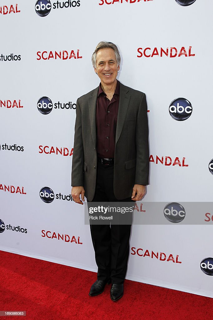 SCANDAL - The cast, guest stars and executive producers of 'Scandal' attended 'An Evening with Scandal' at The Academy of Television Arts & Sciences for their season finale table read and Q&A on Thursday, May 16, 2013. TOM AMANDES