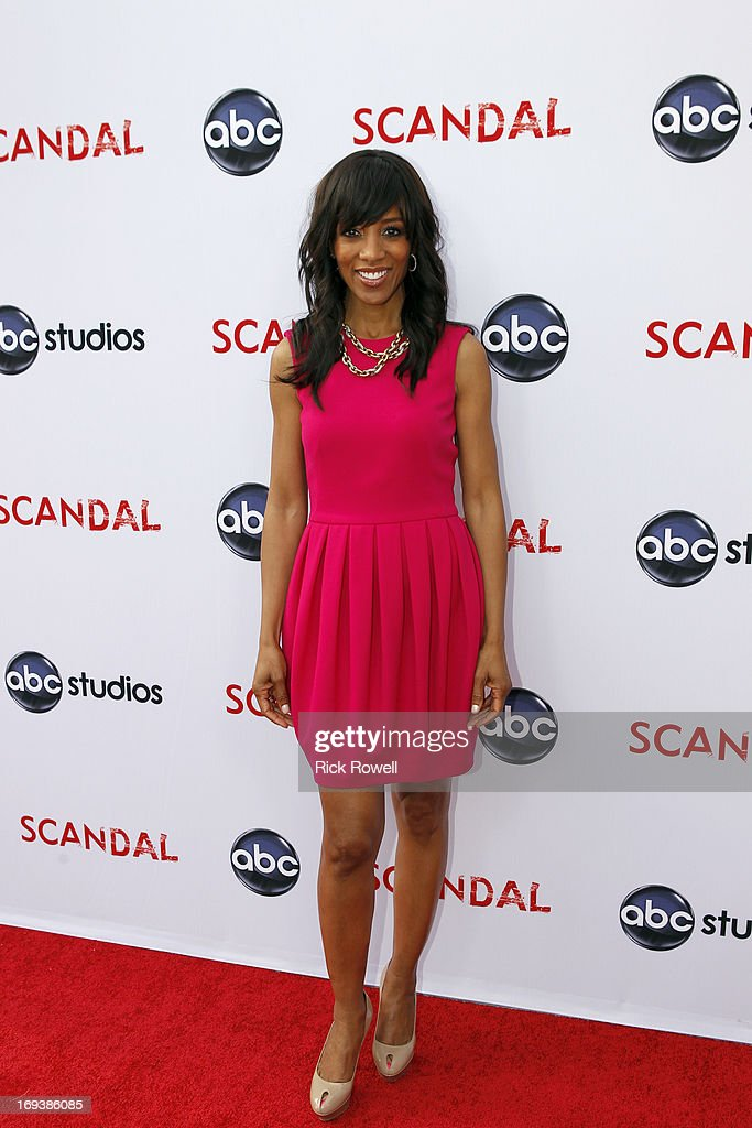 SCANDAL - The cast, guest stars and executive producers of 'Scandal' attended 'An Evening with Scandal' at The Academy of Television Arts & Sciences for their season finale table read and Q&A on Thursday, May 16, 2013. ROBINSON