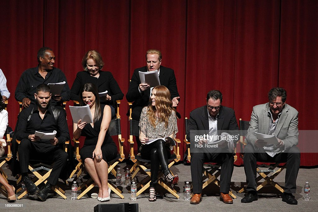 SCANDAL - The cast, guest stars and executive producers of 'Scandal' attended 'An Evening with Scandal' at The Academy of Television Arts & Sciences for their season finale table read and Q&A on Thursday, May 16, 2013. WILDING