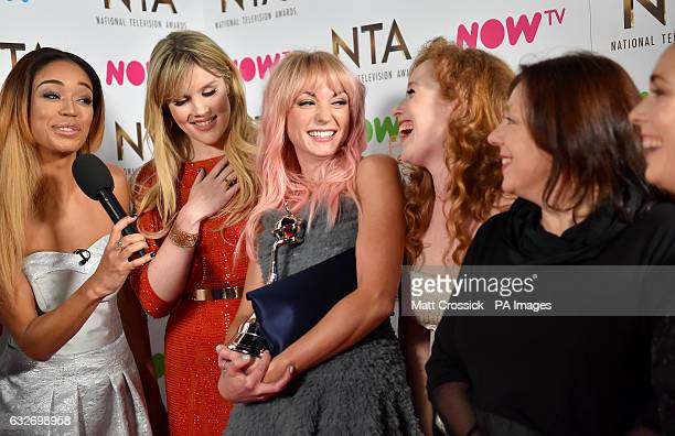 The cast members of Call The Midwife attending the National Television Awards 2017 at the O2 London PRESS ASSOCIATION Photo Picture date Wednesday...