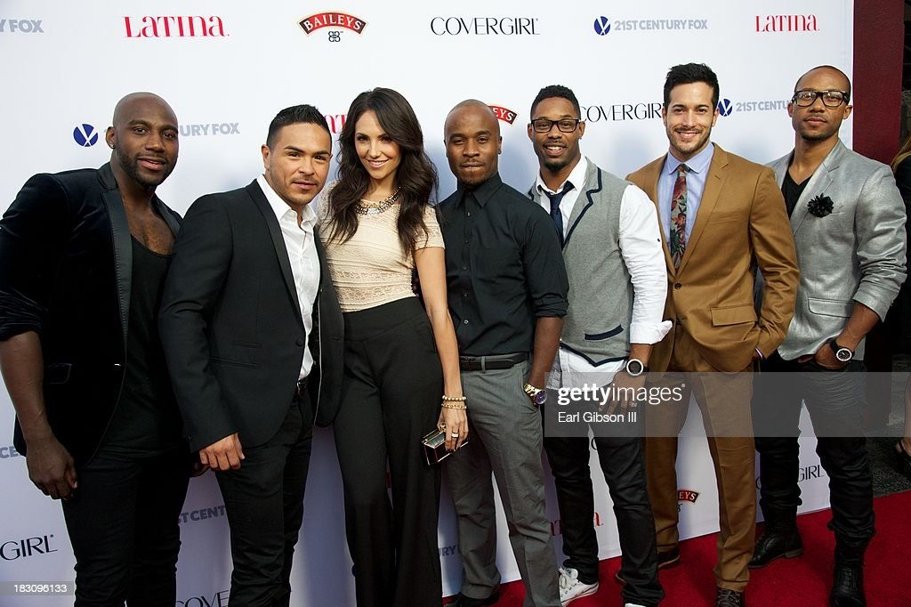 The cast of 'A Step Away' attend the Latina Magazine 'Hollywood Hot List' Party at The Redbury Hotel on October 3, 2013 in Hollywood, California.