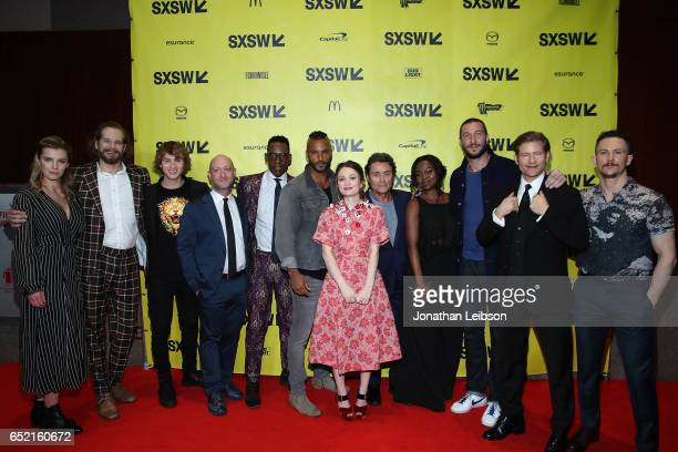 The Cast Of American Gods attends the 'American Gods' at SXSW at on March 11 2017 in Austin Texas