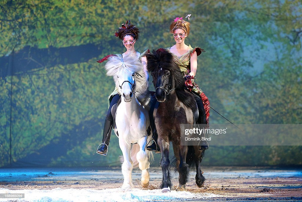 The cast of 'Apassionata' performs during 10 years of Appassionata - Friends Forever on January 4, 2013 in Munich, Germany.