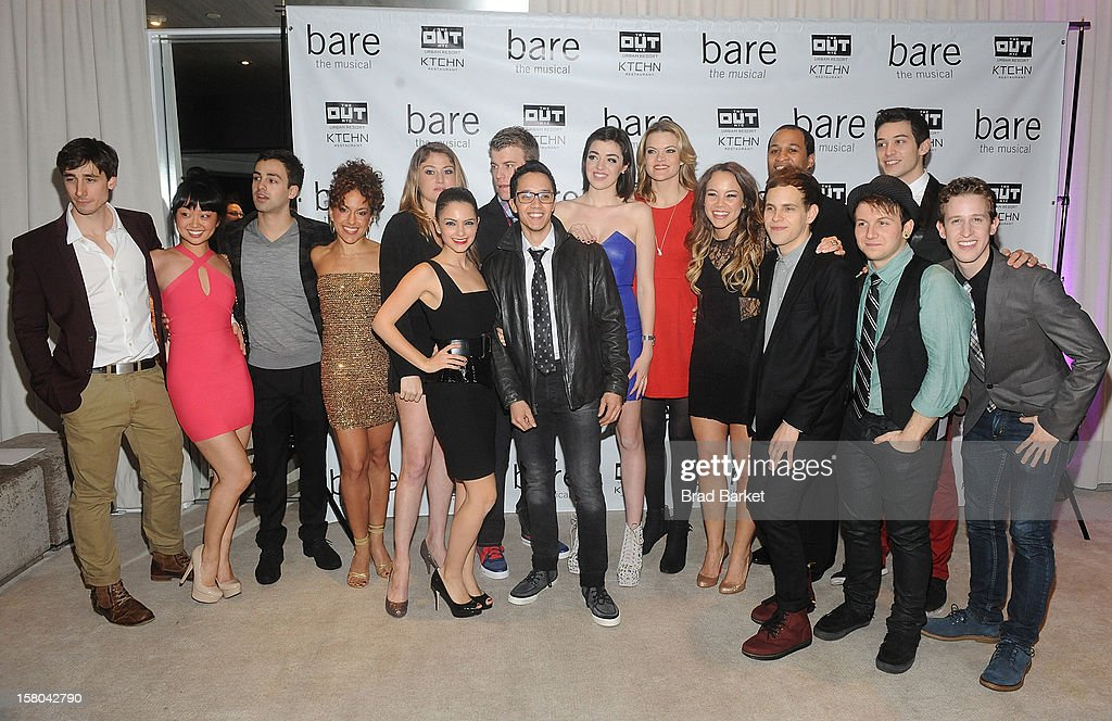 The Cast of 'BARE The Musical' attend 'BARE The Musical' Opening Night After Party at Out Hotel on December 9, 2012 in New York City.