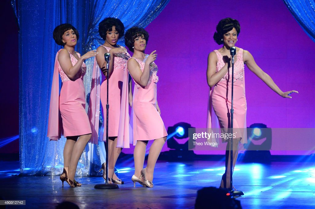 The cast of 'Beautiful' perform onstage during the 68th Annual Tony Awards at Radio City Music Hall on June 8, 2014 in New York City.