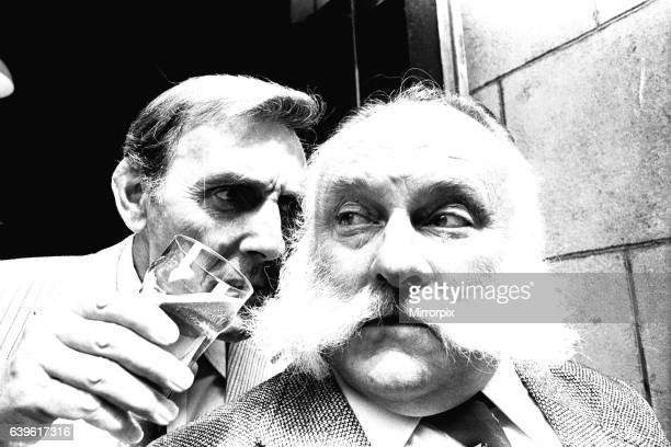 The cast of Big Bad Mouse at the Theatre Royal Newcastle on 10th June 1980 Eric Sykes and Jimmy Edwards