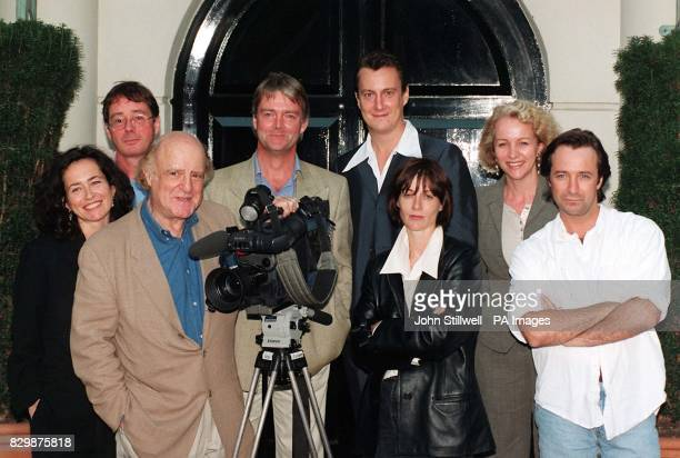 The cast of Channel 4's Drop The Dead Donkey line up for a new series The awardwinning comedy has lost none of its edge in its twoyear absence makers...