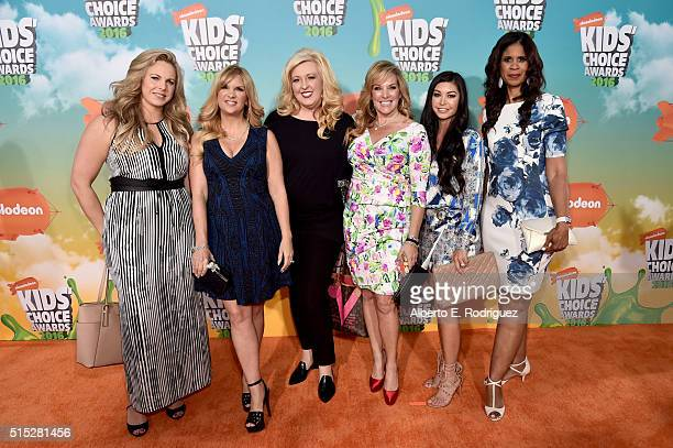 The cast of 'Dance Moms' attend Nickelodeon's 2016 Kids' Choice Awards at The Forum on March 12 2016 in Inglewood California