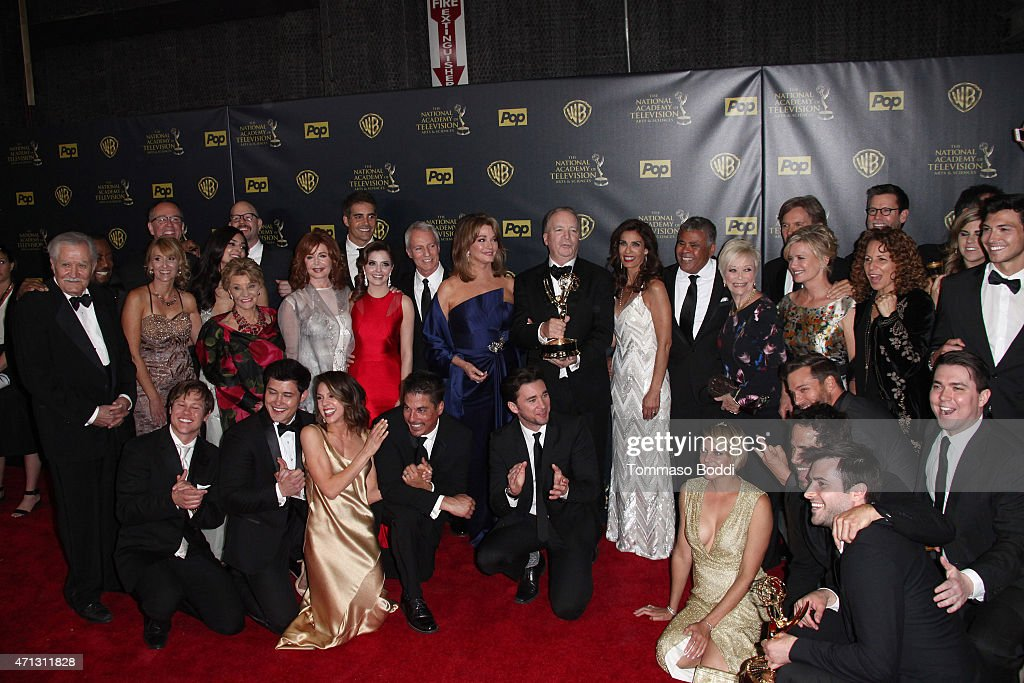42nd annual daytime emmy awards press room getty images for Where the rooms are a collection of our lives