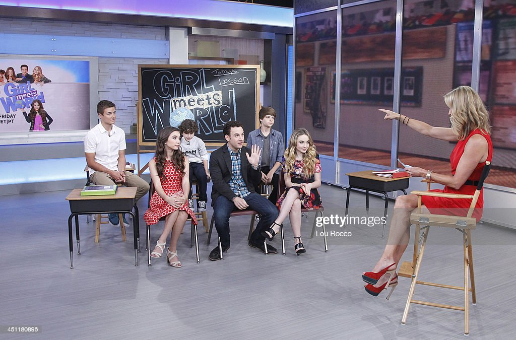 AMERICA - The cast of Disney Channel's 'Girl Meets World' are guests on 'Good Morning America,' 6/24/14, airing on the ABC Television Network.