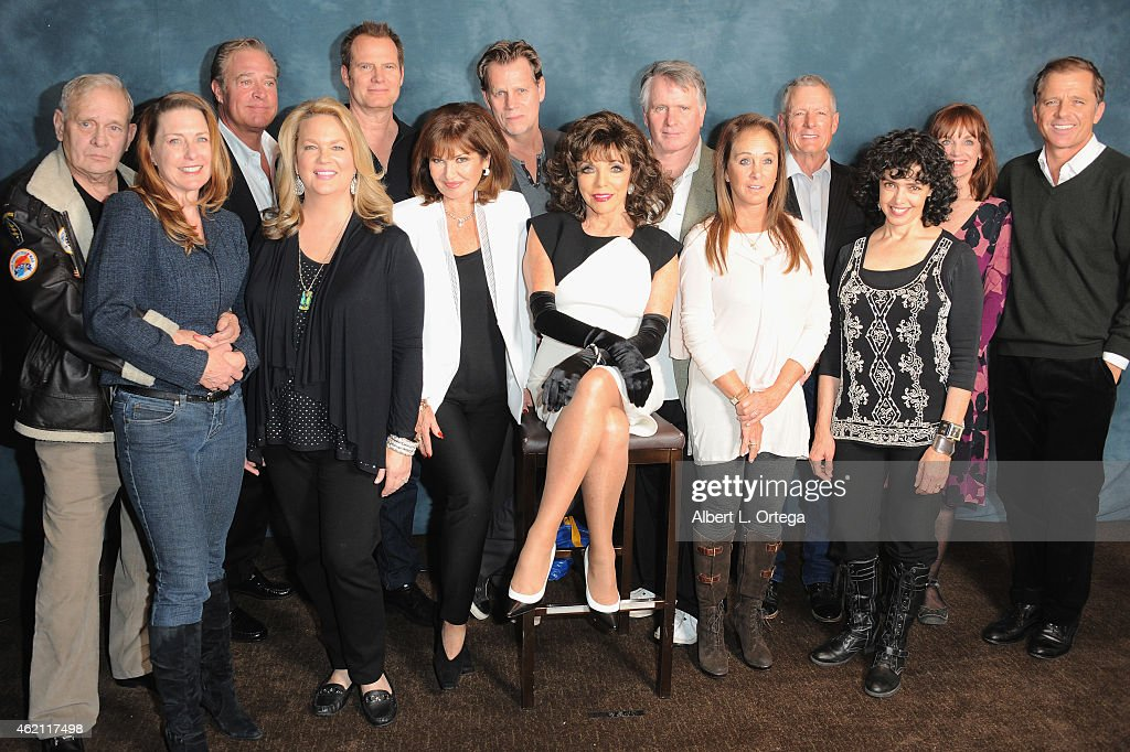 The cast of 'Dynasty' at The Hollywood Show held at The Westin Hotel LAX on January 24, 2015 in Los Angeles, California.
