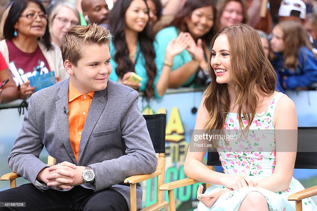 AMERICA - The cast of 'Earth to Echo' are guests on 'Good Morning America,' 6/30/14, airing on the ABC Television Network.