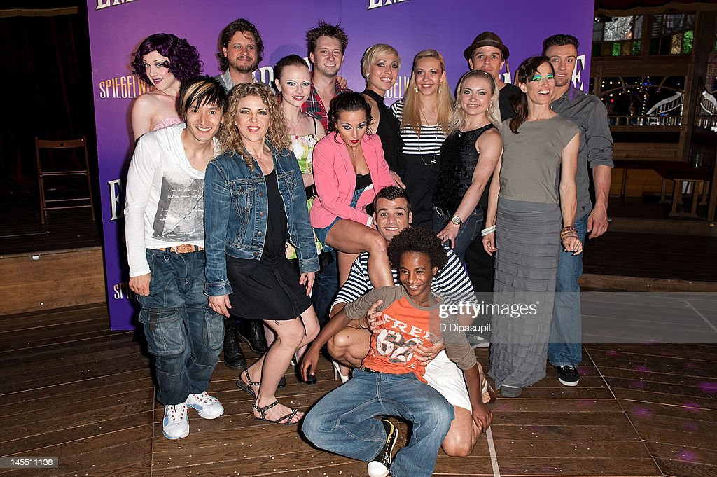 The cast of 'Empire' attends the 'Empire' Opening Night Curtain Call And After Party at 265 West 45th Street on May 31, 2012 in New York City.