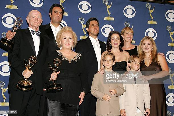 The cast of 'Everybody Loves Raymond' Peter Boyle Brad Garrett Doris Roberts Ray Romano Patricia Heaton Monica Horan Sawyer Sweeten Sullivan Sweeten...