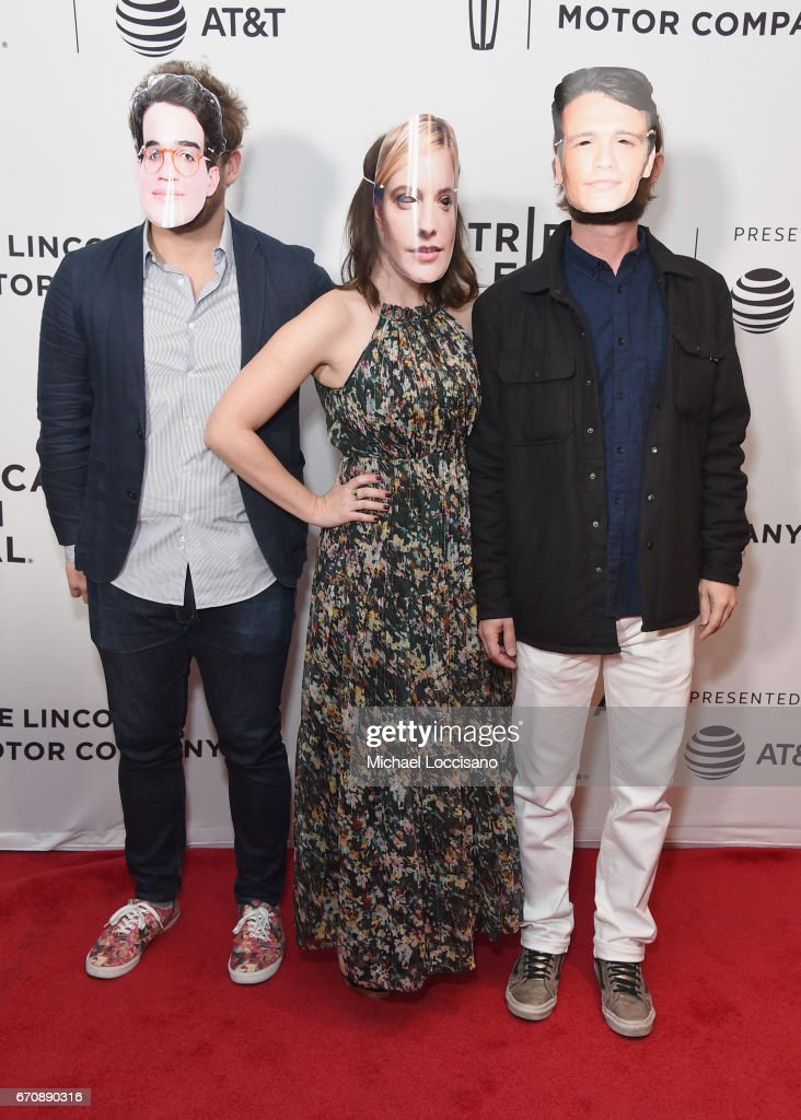 The cast of 'Flames' attends the 'Flame' Premiere during 2017 Tribeca Film Festival at Cinepolis Chelsea on April 20, 2017 in New York City.