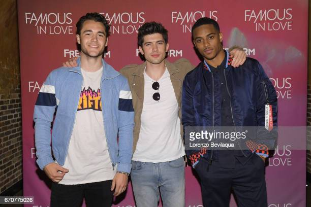 FREEFORM The cast of Freeforms Famous In Love and EP Marlene King screen the first episode to press and social media influencers followed by a QA...