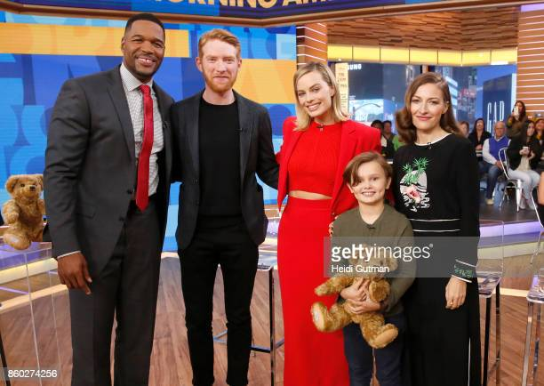 AMERICA The cast of 'Goodbye Christopher Robin' are guests on 'Good Morning America' on Wednesday October 11 airing on the ABC Television Network...