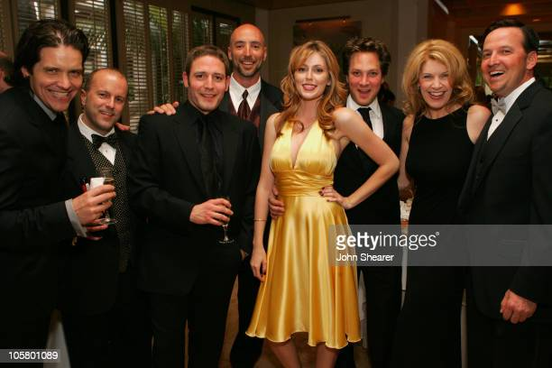The Cast of 'Hot Tamale' during 2006 Newport Beach Film Festival Opening Night Reception at The Island Hotel in Newport Beach California United States