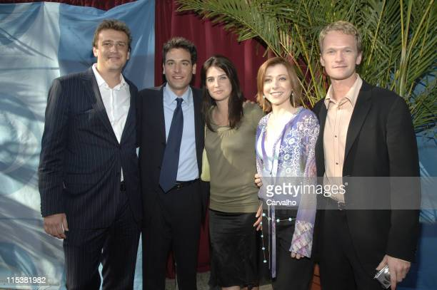 The Cast Of 'How I Met Your Mother' during 2005/2006 CBS Prime Time UpFront at Tavern on the Green Central Park in New York City New York United...