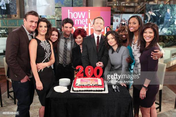 The cast of 'How I Met Your Mother' gathers to discuss the show's 200th episode and final season on THE TALK Monday January 27 2014 on the CBS...