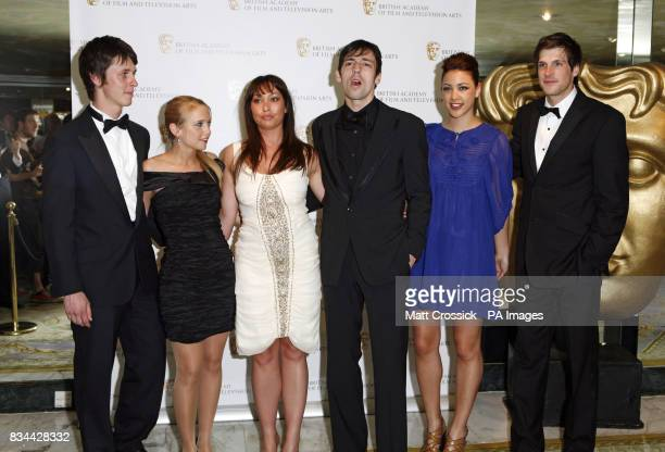 The cast of Katemodern arrive at the British Academy Television Craft Awards at the Dorchester Hotel in West London