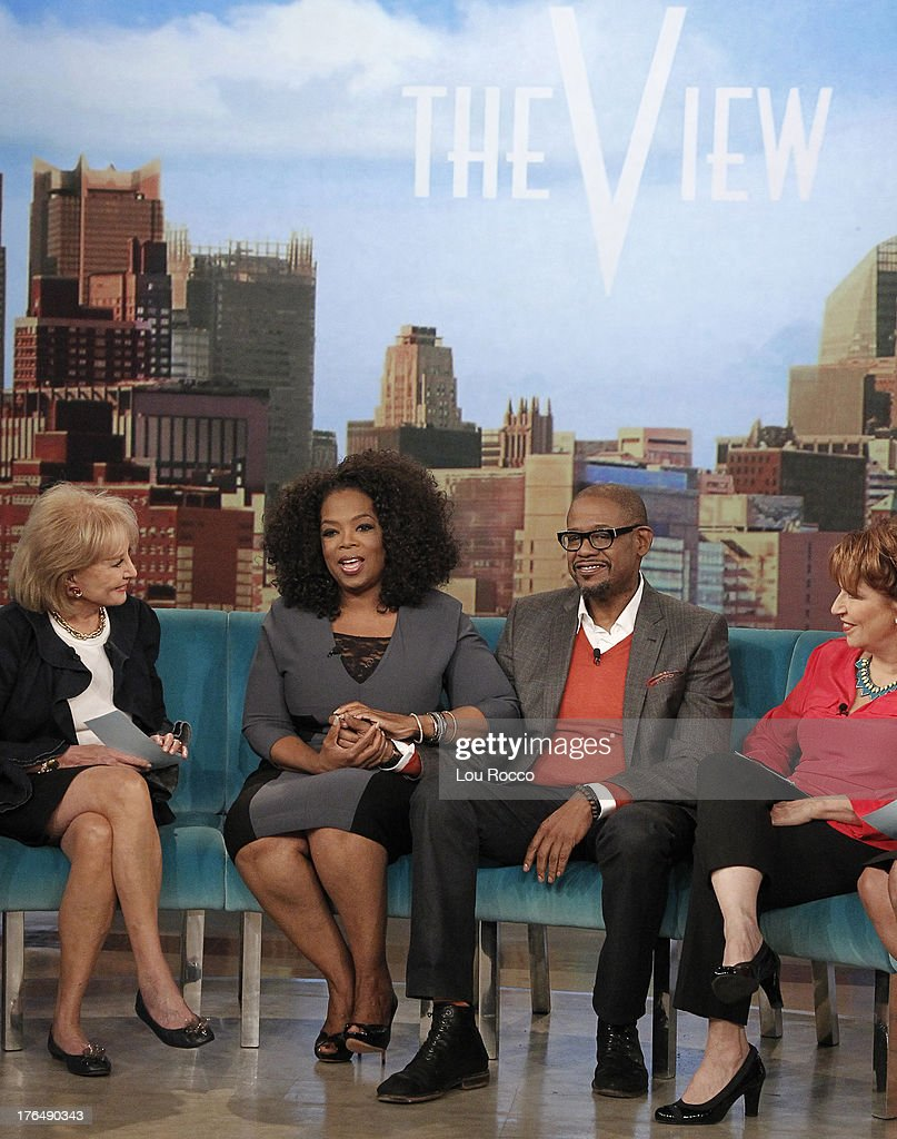 THE VIEW - The cast of Lee Daniels' 'The Butler' featuring stars Oprah Winfrey, Forest Whitaker, Cuba Gooding Jr., Lenny Kravitz and David Oyelowo, appears on ABC's 'The View,' Friday, August 16, 2013. 'The View' airs Monday-Friday (11:00 am-12:00 noon, ET) on the ABC Television Network. BEHAR