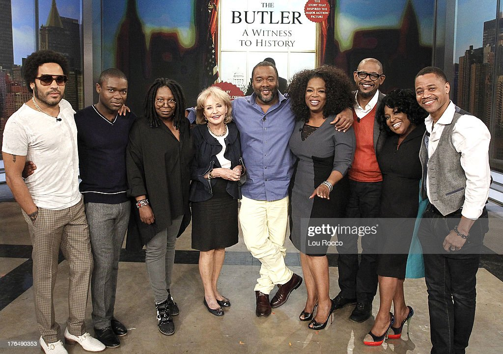 THE VIEW - The cast of Lee Daniels' 'The Butler' featuring stars Oprah Winfrey, Forest Whitaker, Cuba Gooding Jr., Lenny Kravitz and David Oyelowo, appears on ABC's 'The View,' Friday, August 16, 2013. 'The View' airs Monday-Friday (11:00 am-12:00 noon, ET) on the ABC Television Network.