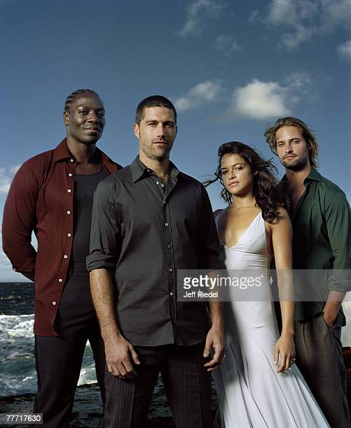 The Cast of Lost The Cast of Lost by Jeff Riedel The Cast of Lost Entertainment Weekly January 6 2006