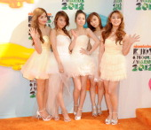 The cast of Nickelodeon's 'Wonder Girls' attends Nickelodeon's 25th Annual Kids' Choice Awards held at Galen Center on March 31 2012 in Los Angeles...
