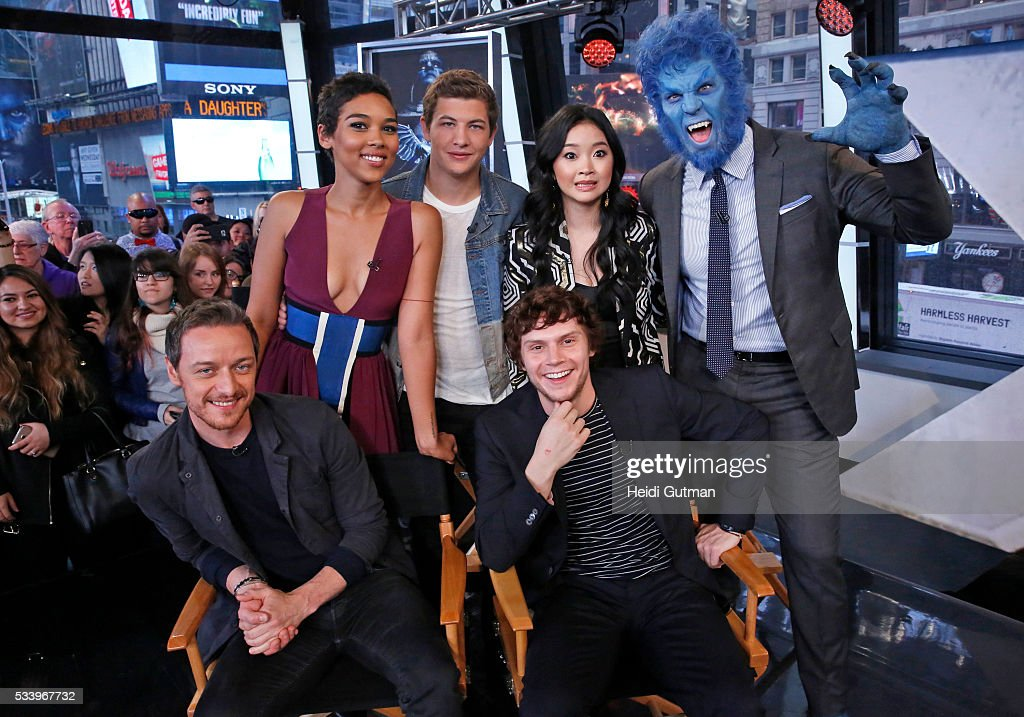 AMERICA - The cast of of 'X-Men: Apocalypse' are on 'Good Morning America,' 5/24/16, airing on the ABC Television Network. JAMES