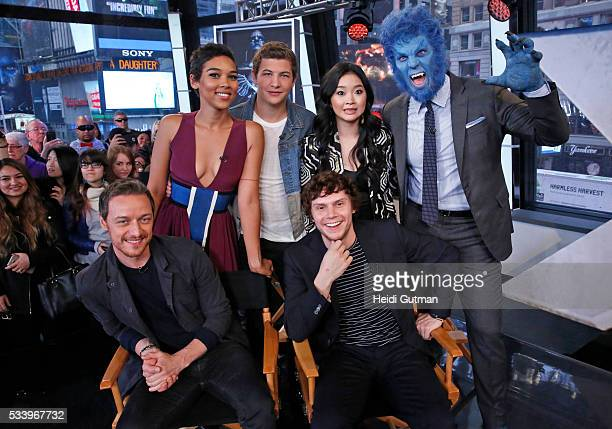AMERICA The cast of of 'XMen Apocalypse' are on 'Good Morning America' 5/24/16 airing on the ABC Television Network JAMES