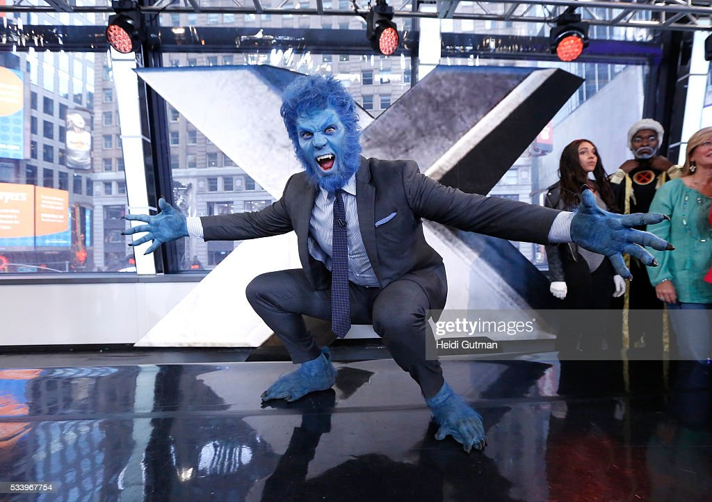 AMERICA - The cast of of 'X-Men: Apocalypse' are on 'Good Morning America,' 5/24/16, airing on the ABC Television Network. JESSE